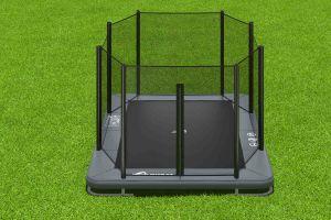 rechthoekige trampoline